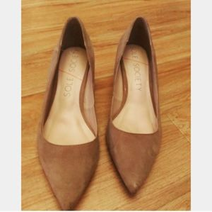 Sole Society Shoes - Sole Society   Suede Heels